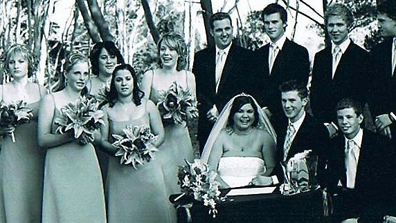 Wedding Party by Mel Brennan