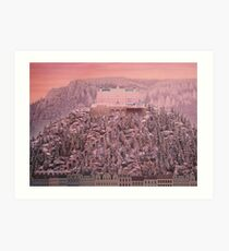 Grand Budapest Hotel Art Print