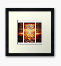 Chadelier Wins Framed Print