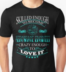 aerospace engineer - crazy enough Unisex T-Shirt