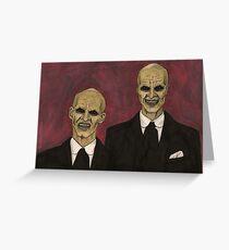 Hush - The Gentlemen - BtVS Greeting Card