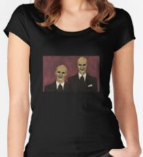 Hush - The Gentlemen - BtVS Women's Fitted Scoop T-Shirt