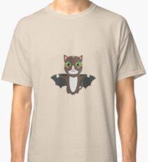 Vampire Kitty Cat Rbqzw Classic T-Shirt