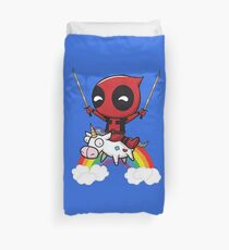 Deadpool - katana Duvet Cover
