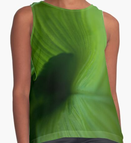 Wave of Green Contrast Tank