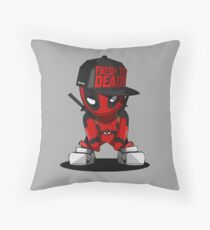 Deadpool - rnb Throw Pillow