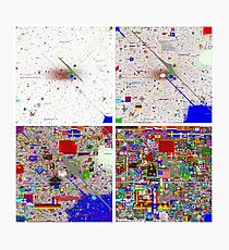 Reddit /r/Place 12K Evolution of the Canvas in Snapshots (2x2) Photographic Print
