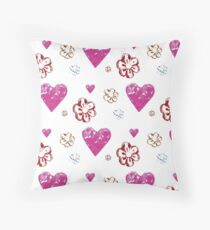 Flower Love Throw Pillow