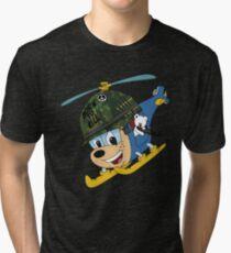 budgie the chopper gunner Tri-blend T-Shirt