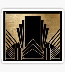 Art-Deco-Design Sticker
