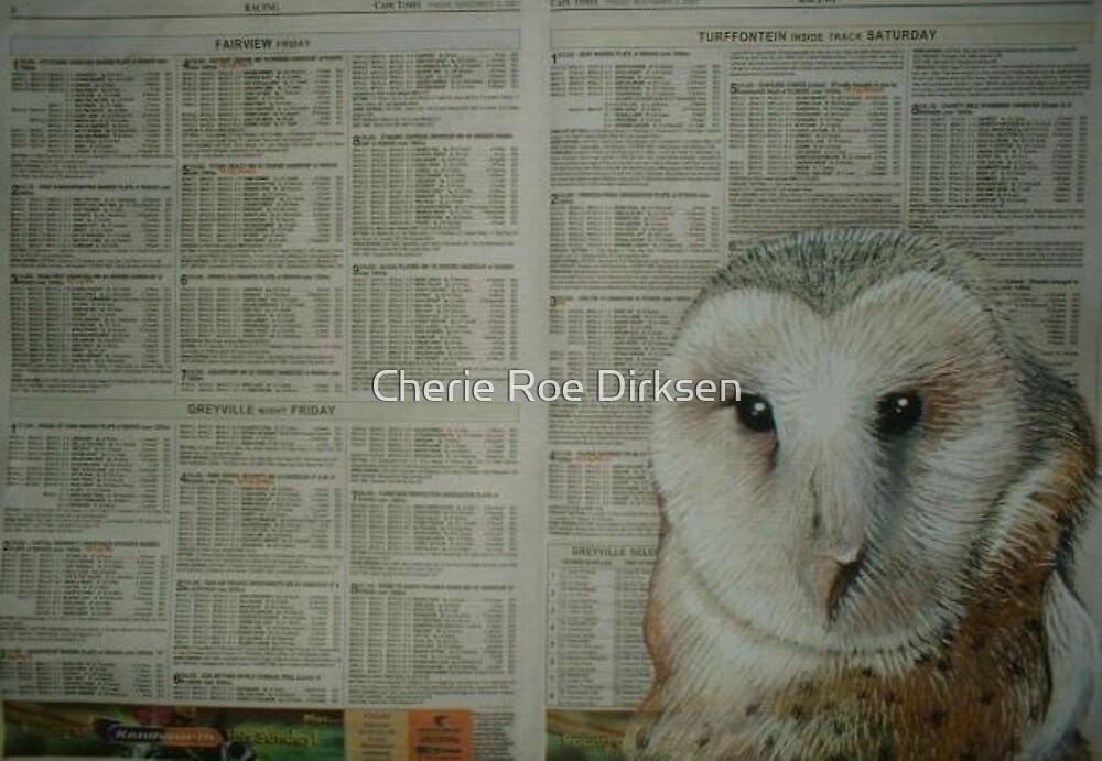 African Grass Owl - Endangered Species by Cherie Roe Dirksen