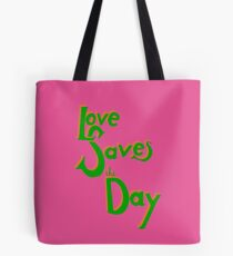 Love Saves the Day Tote Bag