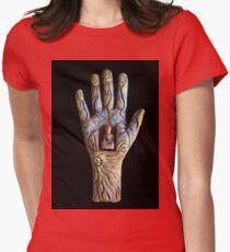 Solar Buddha Womens Fitted T-Shirt