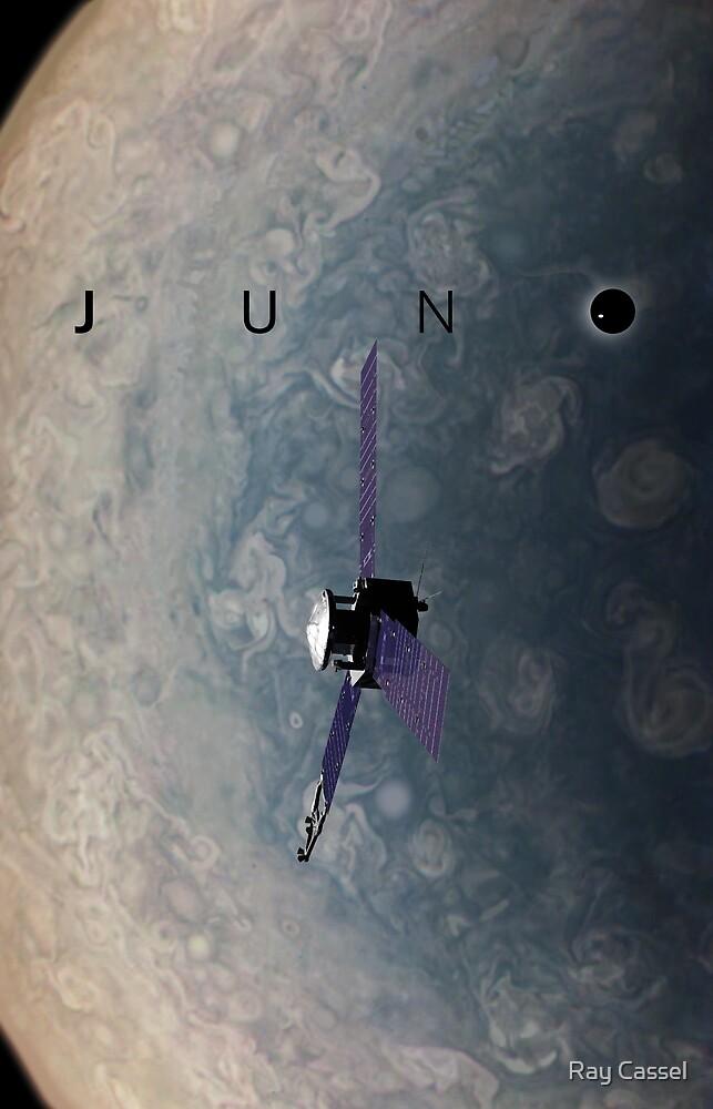 Juno over Jupiter by Ray Cassel