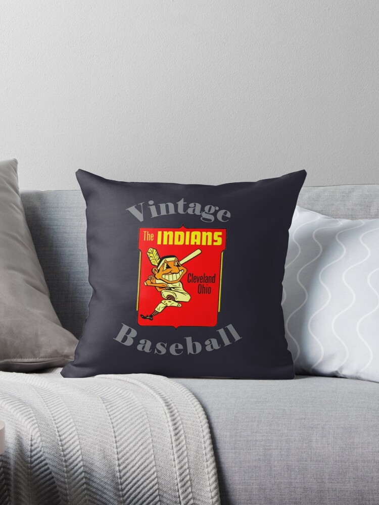 Vintage Baseball Indians Cleveland Ohio By Drewaw