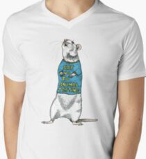 Say No To Animal Testing V-Neck T-Shirt