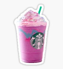 Unicorn Frap Sticker