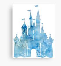 Blue Wishes Metal Print