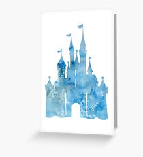 Blue Wishes Greeting Card