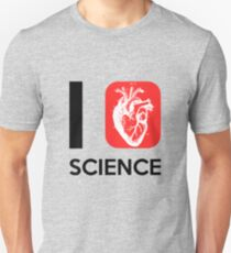 I Heart Science ver.anatomy Unisex T-Shirt