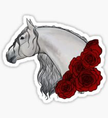 Baroque and Roses Sticker
