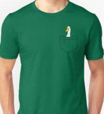 Pocket Duck Unisex T-Shirt