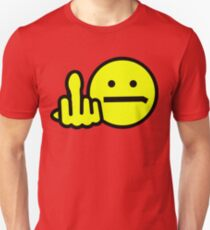 SMILEY gives his opinion of this day! Unisex T-Shirt