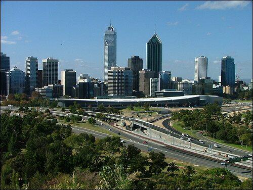 Perth Skyline by SoftParade