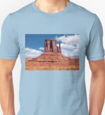 East Mitten Butte in Monument Valley Unisex T-Shirt