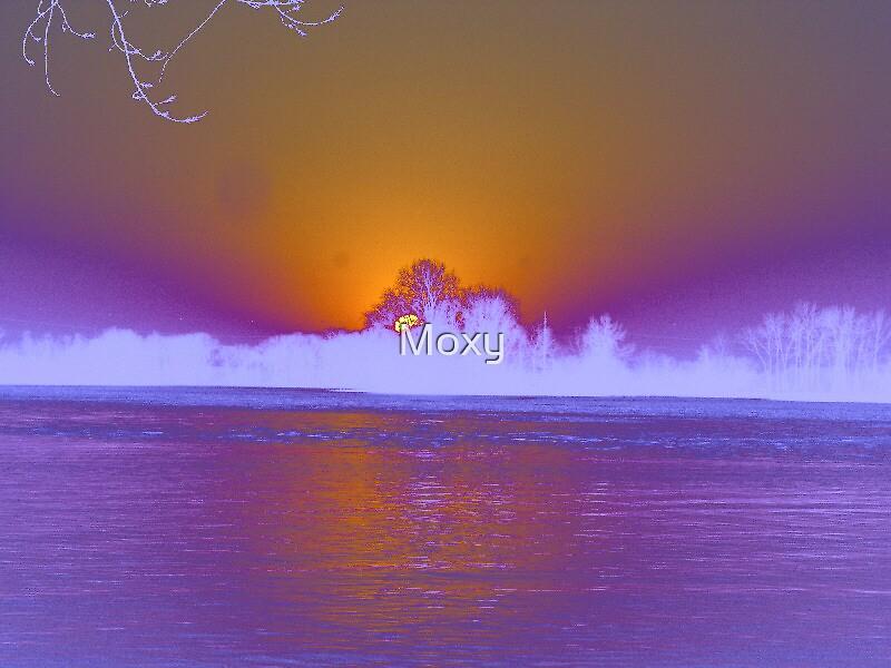 Glowing Sunset by Moxy