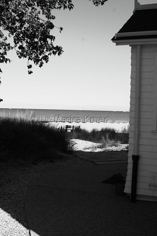 View to the Sea by Jessica Kruer