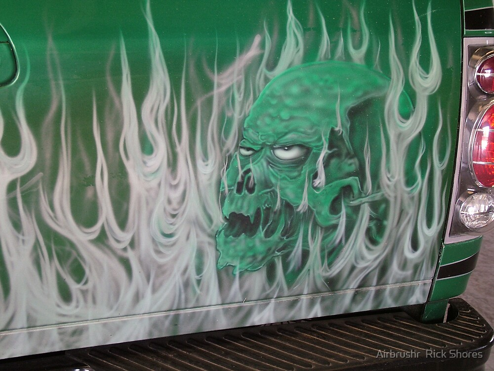 automotive by Airbrushr  Rick Shores