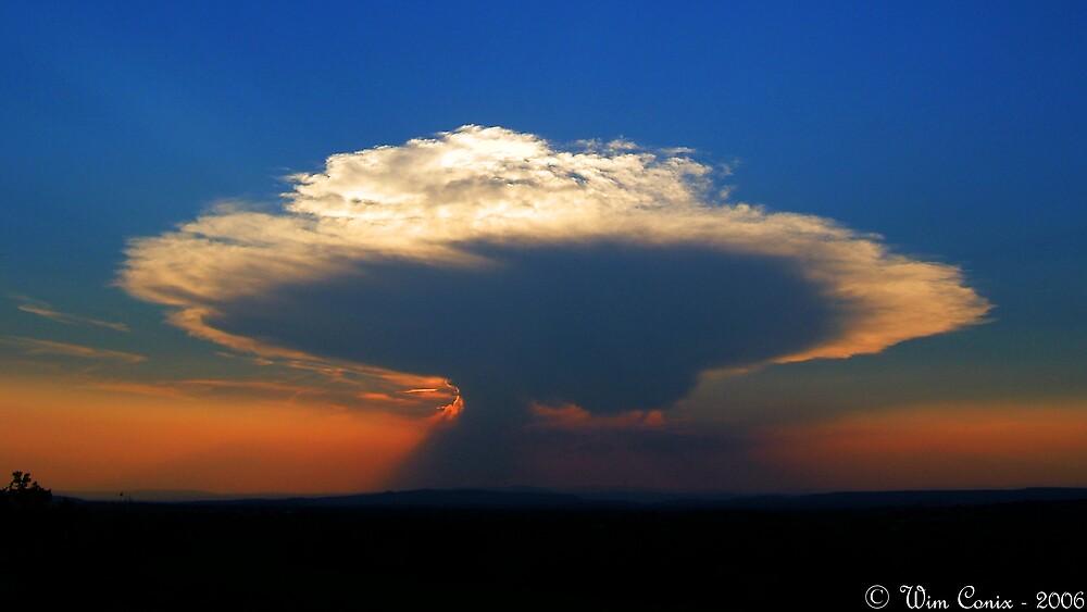 Nuclear sundown... by Wim Conix