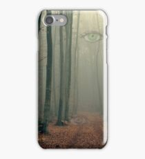 The woods are watching iPhone Case/Skin