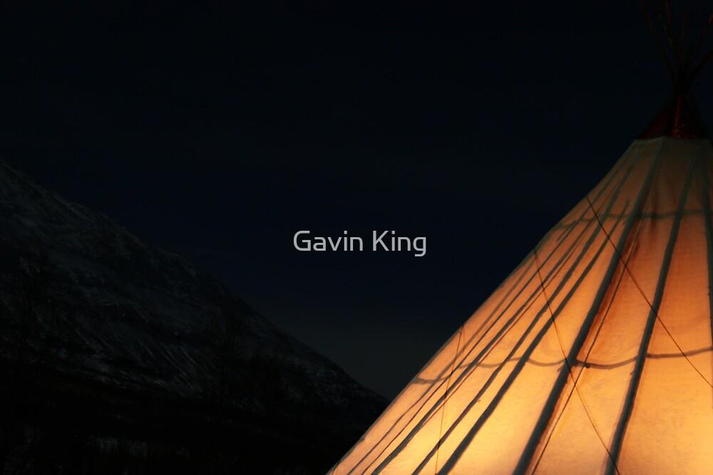 Lavvu by Gavin King