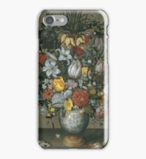 Ambrosius Bosschaert I - Chinese Vase With Flowers, Shells And Insects iPhone Case/Skin