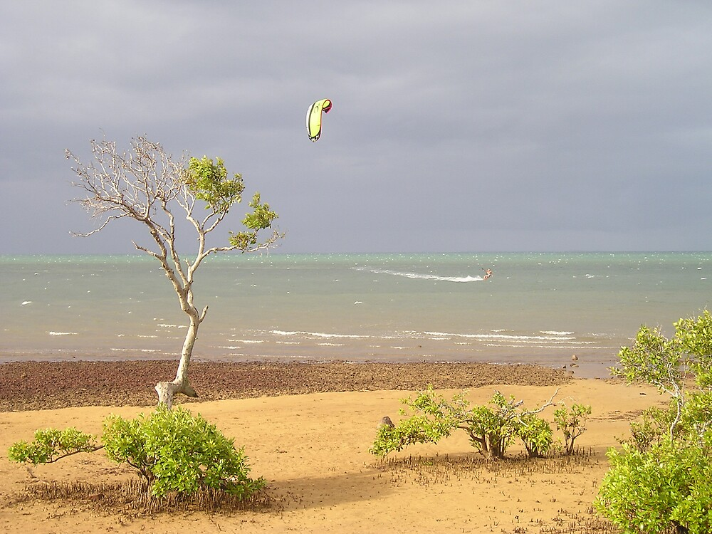 Stormy Day at Wellington Point by Colin & Cathie Townsend