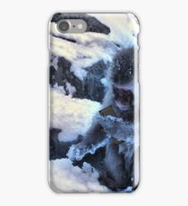 snow monkey checking facebook iPhone Case/Skin