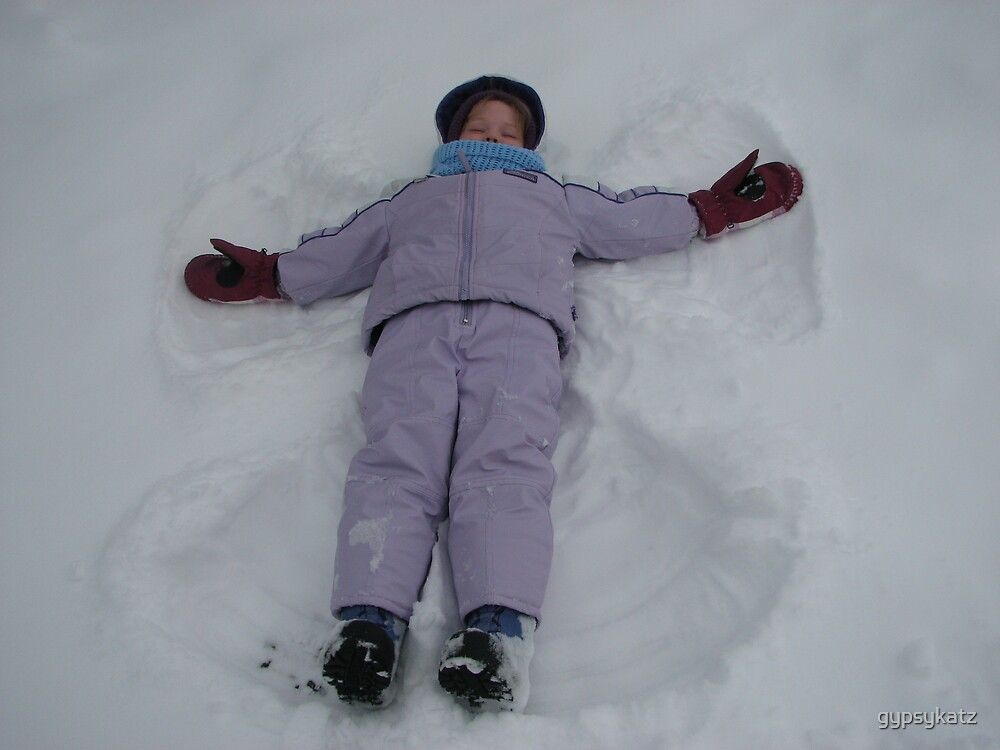 SNOWANGELS by gypsykatz