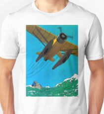 Tintin Airplane Print Unisex T-Shirt