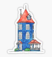 Moomin House Sticker