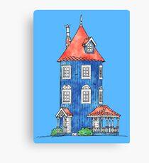 Moomin House Canvas Print
