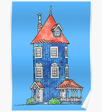 Moomin House Poster
