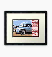 Porsche - Side Framed Print