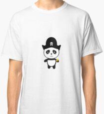 Panda Pirate with Gold Rl9ai Classic T-Shirt