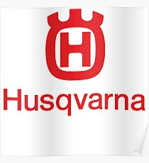 new trending Husqvarna motorcycles motocross logo enduro top selling motor sports racing team unisex t shirt hoodie Poster