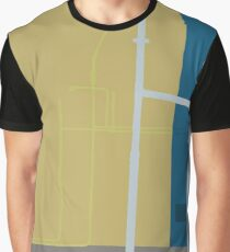 0149 Pipes running up wall Graphic T-Shirt
