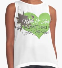 Wake & Shake : Try Something NEW  Contrast Tank