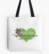 Wake & Shake : Try Something NEW  Tote Bag