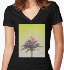 Go West! Women's Fitted V-Neck T-Shirt